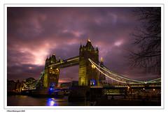 TOWER BRIDGE (Chris (Thanks for 120,000 Views)) Tags: towerbridge bridge riverthames thethames sky nightphotography longexposure cityscape newyear newcamera oldlondontown london city capital england 2020 sunset canoneos5dmkiv canon canonef24105mmlisusm planemotorsport2020