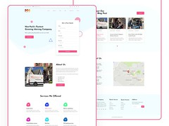Agency Landing page for Freelancer Contest@2x (shafiqul islam4) Tags: webdesign agency landing page webui uiuxdesign uiux website