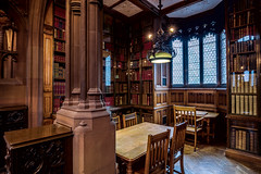The John Rylands Library Study Area (michael_d_beckwith) Tags: thejohnrylandslibrary john rlyands library libraries hogwarts harry potter book books bookshelf bookshelves shelf shelves read reading learn learning study studying education educational university manchester uni college room rooms interior interiors inside architecture architectural building buildings place places historic historical history old famous landmark landmarks tourism heritage england english british european greater mancunian 4k 8k uhd stock free creative commons zero o public domain hires big large photo photograph pic picture michaeldbeckwith michael d beckwith beautiful
