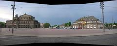 Dresden Theaterplatz (stitch)