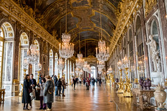 Galerie des Glaces (Hall of Mirrors) (jmosos.44.c) Tags: galeriedesglaces hallofmirrors galerie glaces hall mirrors palace versailles francia france paris europa europe monarquía monarchy photo photography sky architecture arquitectura building history château de châteaudeversailles