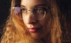 Prepared and Ready (RickB500) Tags: portrait girl rickb rickb500 model beauty expression face cute hair
