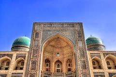 Bukhara UZ - Mir-Arab-Madrasa 05 (Daniel Mennerich) Tags: silk road uzbekistan bukhara history architecture canon dslr eos hdr hdri spiegelreflexkamera slr