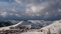 Joli jeu de nuages sur Albiez (AnneLise Pollet) Tags: neige montagne ciel nuages savoie maurienne albiezmontrond