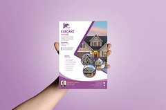 REAL ESTATE FLYER DESIGN (fahadamin92) Tags: air background black blank brochure clean design flyer gray hand hold inair invitation isolated male mid midair minimalist mock mockup paper person portfolio presentation showing simple template up