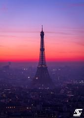 Sunrise (A.G. Photographe) Tags: ag agphotographe paris parisien parisian france french français europe capitale d850 nikon nikkor 70200vrii toureiffel eiffeltower