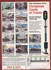 Trains Magazine (heytampa) Tags: ad advertisement trains trainsmagazine 1973 christmascards