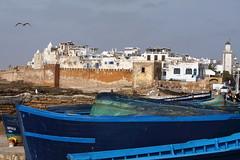 Vue sur la médina d'Essaouira IMG_0113 ([JM] photographie) Tags: maroc essaouira paysage landscape sudmarocain ville port remparts barques