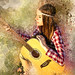 Girl Female Person Adult Guitar Edited 2020