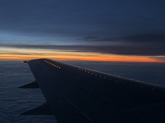 YL-BBR (Кевін Бієтри) Tags: ylbbr onboard boeing 737300 airbaltic with wonderful sunrise boeing737 aile kevinbiétry spotterbietry airplane sunset sky aircraft vehicle ocean sun jet landscape flight water horizon airport cloud evening dusk airliner standing outdoor airtravel plane