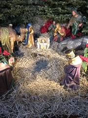 The Crib, Oratory Church of St Aloysius Gonzaga, Woodstock Road, Oxford (Brownie Bear) Tags: christmas crib oxford oratory church st saint aloysius gonzaga woodstock road rd england great britain united kingdom gb uk