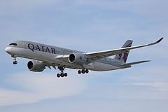 A7-ALE Airbus A350-941 Qatar Airways Heathrow 01st June 2019 (michael_hibbins) Tags: a7ale airbus a350941 qatar airways heathrow 01st june 2019