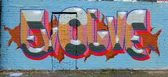 Graffiti in Amsterdam (wojofoto) Tags: amsterdam nederland netherland holland ndsm noord graffiti streetart wojofoto wolfgangjosten evolve