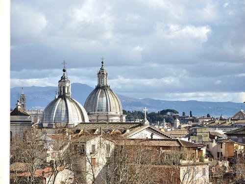 Cupole di S.Salvatore in Lauro e S.Agnese in Agone