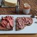 Roastbeef und Leberwurst auf Majanne-Brot