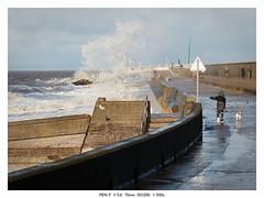 P1120512_DxO (Phil...H) Tags: cleveleys lancashire clouds sea seaside seashore beachfront wall path penf olympus