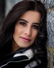 Gypsy Bianca (QuarryClimber) Tags: woman brunette female outdoorportrait naturallight canoneosr canon24105rf beautifuleyes romagypsy