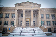 East High in the Snow (Phil Roeder) Tags: desmoines iowa snow winter weather canon6d canonef24105mmf4lisusm