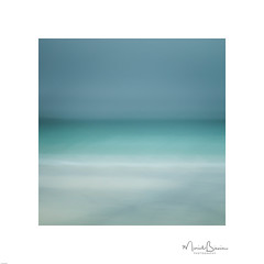 Looking out to Sea (ICM & Me) Tags: icm intentionalcameramovement ramberg lofoten lofotenislands norway norge abstract abstrait blur flou impressionist seascape teal visitnorway