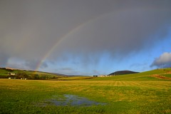 (Zak355) Tags: rothesay isleofbute bute scotland scottish rainbow weather ettrickbay