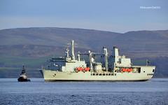 RFA Fort Victoria (Zak355) Tags: rothesay isleofbute bute scotland scottish naval navy royalnavy riverclyde ship shipping boat vessel rfafortvictoria