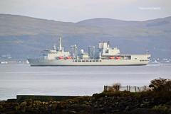 RFA Fort Victoria (Zak355) Tags: rothesay isleofbute bute scotland scottish naval navy royalnavy riverclyde ship shipping boat vessel rfafortvictoria mvcatriona