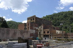 Downtown Welch, West Virginia (Aaron F. Stone) Tags: welch westvirginia west virginia wv mcdowell downtown sad abandoned empty construction destruction