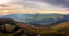 panorama (Phil-Gregory) Tags: nikon naturalphotography nationalpark clouds cloudscape colour crookhill winnhill mamtor kinderscout ladybowerreservoir peakdistrict d7200 derbyshire england derwent tokina tokina1120mmatx wideangle ultrawide panorama