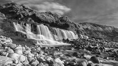 Waterfall at Osmington Mills
