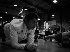 7923 - Plank (Diego Rosato) Tags: plank abdominal exercize esercizio addominale boxer pugile boxe boxing pugilato boxelatina allenamento training fuji x30 rawtherapee bianconero blackwhite