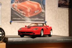 Modell Ferrari 550 Barchetta (Las Cuentas) Tags: modellcar modellauto 118 car ferrari 550 barchetta modèle de voiture modello modelo coche