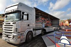 D - Löffelhardt >Ghost Rider< Scania R TL (BonsaiTruck) Tags: löffelhardt ghost rider scania schausteller jahrmarkt lkw lastwagen truck lorry fairground