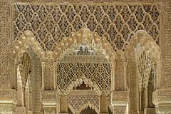 Granada. La Alhambra. Arco III (Alfonso Suárez) Tags: alfonsosuárez alfonsosuárezlagares granada alhambra arco arquitectura nazari herradura medio punto yeseria grabado ataurique andalucia españa spain musulman hispanomusulman