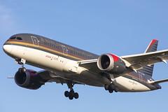 JY-BAG - LHR - (18-01-20) (Fred Ellis -) Tags: boeing 787 788 royal jordanian lhr winter sun myrtle