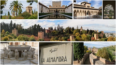 Montage - Alhambra, Espagne - 2987 (rivai56) Tags: montage alhambra espagne spain 2987 collage de plusieurs photos du château lalhambra