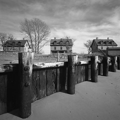 Sandy Hook, NJ (devb.) Tags: 6x6 mediumformat hasselbladswcm ilforddelta100 hc110 sandyhook nj red25