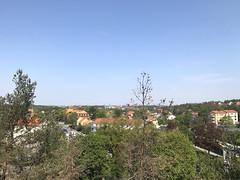 20190522-A (Heinrock) Tags: bromma spring sky kista sweden iphone7 tree cityscape street solna stockholm rooftops treetop ulvsunda