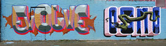 Graffiti in Amsterdam (wojofoto) Tags: amsterdam nederland netherland holland ndsm noord graffiti streetart wojofoto wolfgangjosten evolve osno osmo