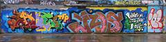 Graffiti in Amsterdam (wojofoto) Tags: amsterdam nederland netherland holland ndsm noord graffiti streetart wojofoto wolfgangjosten jake