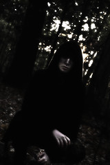We Know (Vincere Noel) Tags: forest woodland woods tree trees leaf leaves dark outside evil scary occult horror creepy haunted old skyrim witch fantasy fairytale vampire portrait portraiture girl boy male man ghost