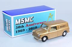 SPO-210-Mini-Van-MSMC-B (adrianz toyz) Tags: spoton toy model car 142 210 msmc whitemetal copy maidenheadstaticmodelclub christmas adrianztoyz diecast scale 2019 minivan mini van bmc blmc morris
