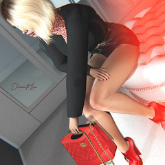 Cool (TRES CHIC EVENT) (Chiara De Luca) Tags: tres chic event secondlife ddl accesories pumps shoes ultra blonde biondina