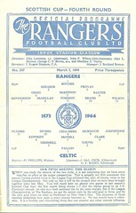 Photo of Rangers v Celtic 19640307