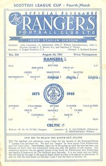 Photo of Rangers v Celtic 19630824