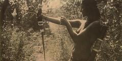 tha Amazon touch (www.matteovarsi.com) Tags: amazon girl nature light portrait arch archery arrow dart