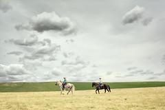 Cowgirls of the South Pacific (Peter Kurdulija) Tags: geo:lat=4518735240 geo:lon=17015526830 geotagged newzealand nzl otago ranfurly waipiata new zealand central cowgirl cowboy plains horse rider travel storm cloud woman kiwi culture farm province freedom lifestyle kurdulija