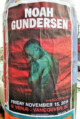 Noah Gundersen (knightbefore_99) Tags: vancouver bc poster art awesome great live stage show gig noah gundersen venue scottruth granville city music cool seattle washington