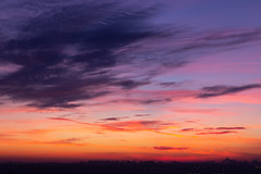Sunset (Maksim Likhoded) Tags: sunset moscow russia clouds