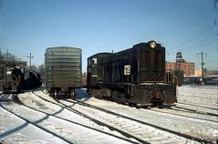 Penn Central Baldwin 8534 Feb73 (jsmatlak) Tags: railroad train locomotive baldwin pc penn central