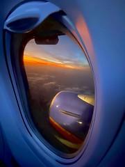Cloud / Engine / Ring / Windows / 10 / Sunset  / 7 ! - IMRAN™ (ImranAnwar) Tags: aviation traveling travelogue horizon clouds dusk engineering engine humor puns microsoft window windows10 hdr iphone aerial flying tampa florida